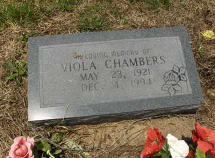 CHAMBERS, VIOLA - Hempstead County, Arkansas | VIOLA CHAMBERS - Arkansas Gravestone Photos
