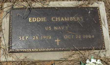 CHAMBERS (VETERAN), EDDIE - Hempstead County, Arkansas | EDDIE CHAMBERS (VETERAN) - Arkansas Gravestone Photos