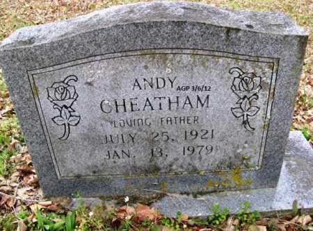 CHEATHAM, ANDY - Hempstead County, Arkansas | ANDY CHEATHAM - Arkansas Gravestone Photos