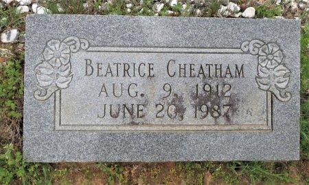 CHEATHAM, BEATRICE (FOOTMARKER) - Hempstead County, Arkansas | BEATRICE (FOOTMARKER) CHEATHAM - Arkansas Gravestone Photos