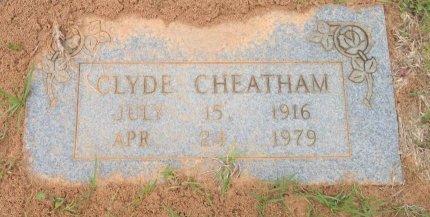 CHEATHAM, CLYDE - Hempstead County, Arkansas | CLYDE CHEATHAM - Arkansas Gravestone Photos