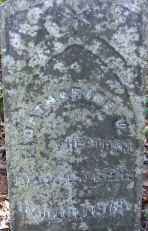 CHEATHAM, CATHERINE V - Hempstead County, Arkansas   CATHERINE V CHEATHAM - Arkansas Gravestone Photos