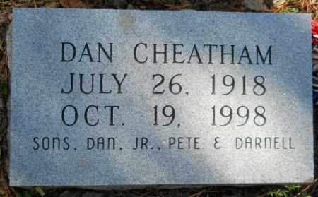 CHEATHAM, DAN - Hempstead County, Arkansas   DAN CHEATHAM - Arkansas Gravestone Photos