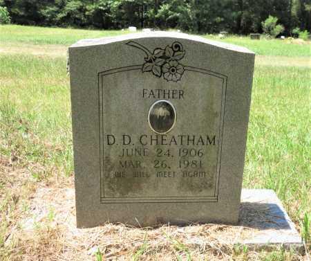 CHEATHAM, D D - Hempstead County, Arkansas | D D CHEATHAM - Arkansas Gravestone Photos