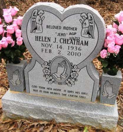 CHEATHAM, HELEN JEAN - Hempstead County, Arkansas   HELEN JEAN CHEATHAM - Arkansas Gravestone Photos
