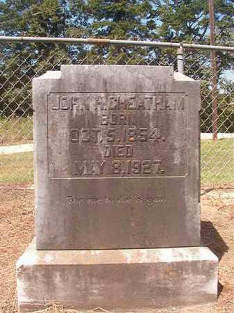 CHEATHAM, JOHN H - Hempstead County, Arkansas | JOHN H CHEATHAM - Arkansas Gravestone Photos