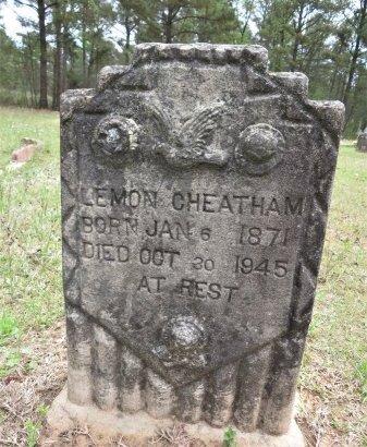CHEATHAM, LEMON - Hempstead County, Arkansas   LEMON CHEATHAM - Arkansas Gravestone Photos