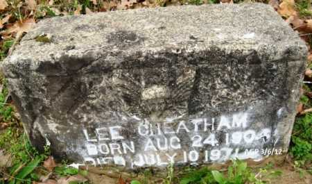 CHEATHAM, LEE - Hempstead County, Arkansas | LEE CHEATHAM - Arkansas Gravestone Photos