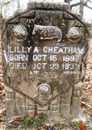CHEATHAM, LILLY A - Hempstead County, Arkansas | LILLY A CHEATHAM - Arkansas Gravestone Photos