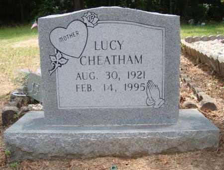 CHEATHAM, LUCY - Hempstead County, Arkansas   LUCY CHEATHAM - Arkansas Gravestone Photos