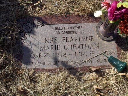 CHEATHAM, PEARLENE MARIE - Hempstead County, Arkansas | PEARLENE MARIE CHEATHAM - Arkansas Gravestone Photos