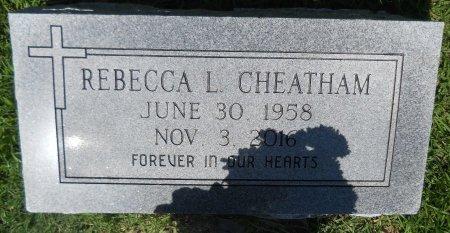 CHEATHAM, REBECCA L - Hempstead County, Arkansas   REBECCA L CHEATHAM - Arkansas Gravestone Photos