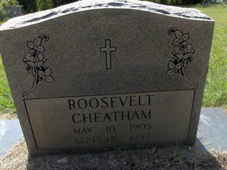 CHEATHAM, ROOSEVELT - Hempstead County, Arkansas   ROOSEVELT CHEATHAM - Arkansas Gravestone Photos