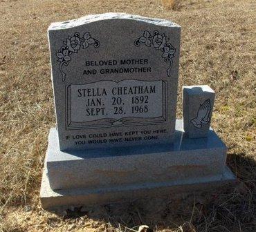 CHEATHAM, STELLA - Hempstead County, Arkansas   STELLA CHEATHAM - Arkansas Gravestone Photos