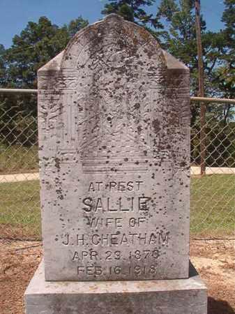 CHEATHAM, SALLIE - Hempstead County, Arkansas   SALLIE CHEATHAM - Arkansas Gravestone Photos