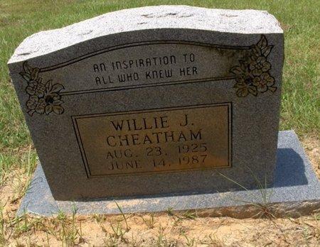 CHEATHAM, WILLIE J - Hempstead County, Arkansas   WILLIE J CHEATHAM - Arkansas Gravestone Photos
