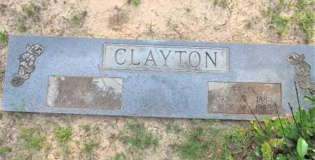 CLAYTON, ALICE - Hempstead County, Arkansas   ALICE CLAYTON - Arkansas Gravestone Photos