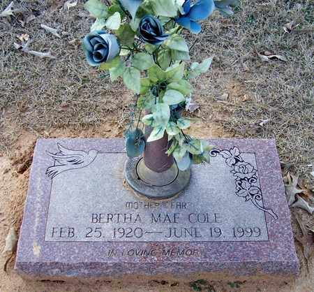 COLE, BERTHA MAE - Hempstead County, Arkansas | BERTHA MAE COLE - Arkansas Gravestone Photos