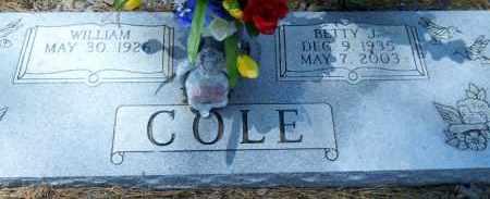 COLE, BETTY J - Hempstead County, Arkansas   BETTY J COLE - Arkansas Gravestone Photos