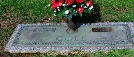 COLE, JIM - Hempstead County, Arkansas | JIM COLE - Arkansas Gravestone Photos