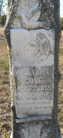 COLE, WILLIAM L - Hempstead County, Arkansas   WILLIAM L COLE - Arkansas Gravestone Photos