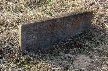 COLEMAN, ANNA - Hempstead County, Arkansas | ANNA COLEMAN - Arkansas Gravestone Photos