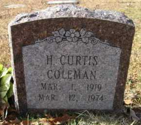 COLEMAN, H CURTIS - Hempstead County, Arkansas | H CURTIS COLEMAN - Arkansas Gravestone Photos