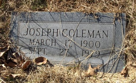 COLEMAN, JOSEPH - Hempstead County, Arkansas | JOSEPH COLEMAN - Arkansas Gravestone Photos