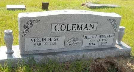 COLEMAN, JULIA F - Hempstead County, Arkansas   JULIA F COLEMAN - Arkansas Gravestone Photos