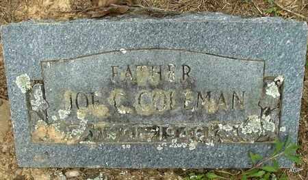 COLEMAN, JOE C - Hempstead County, Arkansas | JOE C COLEMAN - Arkansas Gravestone Photos