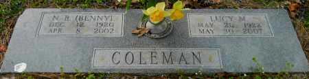 "COLEMAN, NEILY B ""BENNY"" - Hempstead County, Arkansas   NEILY B ""BENNY"" COLEMAN - Arkansas Gravestone Photos"