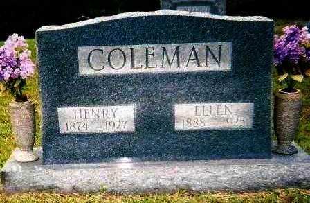 COLEMAN, ELLEN - Hempstead County, Arkansas | ELLEN COLEMAN - Arkansas Gravestone Photos