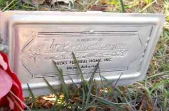 CONWAY, BERNARD - Hempstead County, Arkansas | BERNARD CONWAY - Arkansas Gravestone Photos