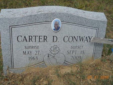 CONWAY, CARTER D - Hempstead County, Arkansas | CARTER D CONWAY - Arkansas Gravestone Photos