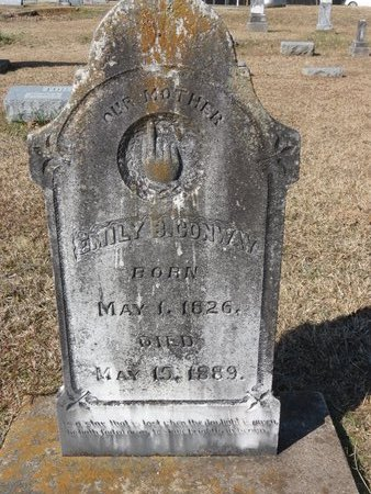 CONWAY, EMILY B. - Hempstead County, Arkansas | EMILY B. CONWAY - Arkansas Gravestone Photos