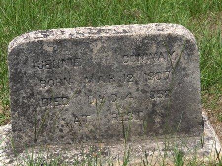 CONWAY, JENNIE - Hempstead County, Arkansas | JENNIE CONWAY - Arkansas Gravestone Photos