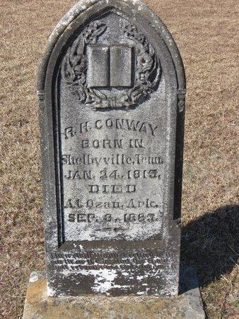 CONWAY, R.H. - Hempstead County, Arkansas | R.H. CONWAY - Arkansas Gravestone Photos