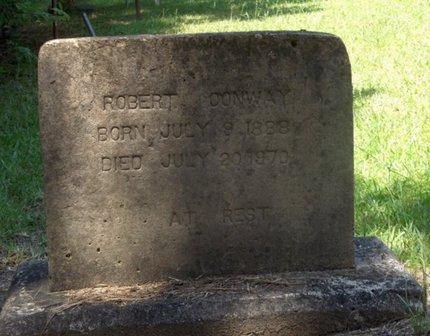 CONWAY, ROBERT - Hempstead County, Arkansas   ROBERT CONWAY - Arkansas Gravestone Photos