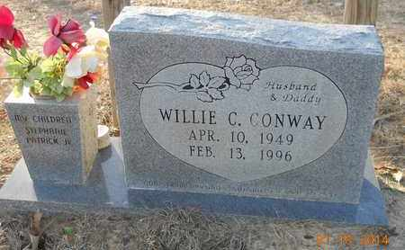 CONWAY, WILLIE C - Hempstead County, Arkansas   WILLIE C CONWAY - Arkansas Gravestone Photos