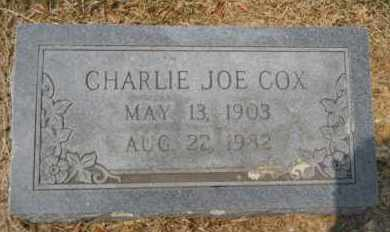 COX, CHARLIE JOE - Hempstead County, Arkansas | CHARLIE JOE COX - Arkansas Gravestone Photos