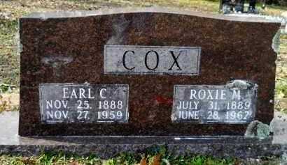 COX, ROXIE M - Hempstead County, Arkansas | ROXIE M COX - Arkansas Gravestone Photos