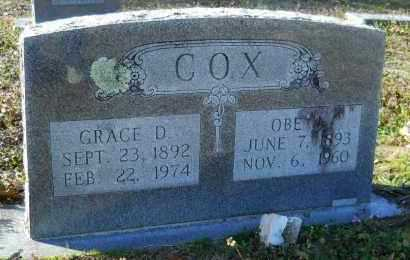 COX, OBE J - Hempstead County, Arkansas | OBE J COX - Arkansas Gravestone Photos
