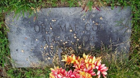 COX, ORA MAE - Hempstead County, Arkansas | ORA MAE COX - Arkansas Gravestone Photos