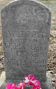 COX, WILLIS - Hempstead County, Arkansas | WILLIS COX - Arkansas Gravestone Photos