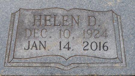 CROSBY, HELEN DELOIS  (CLOSE UP) - Hempstead County, Arkansas | HELEN DELOIS  (CLOSE UP) CROSBY - Arkansas Gravestone Photos