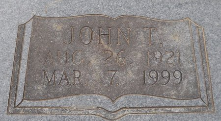 CROSBY, JOHN THOMAS (CLOSE UP) - Hempstead County, Arkansas | JOHN THOMAS (CLOSE UP) CROSBY - Arkansas Gravestone Photos