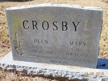 CROSBY, OLEN - Hempstead County, Arkansas | OLEN CROSBY - Arkansas Gravestone Photos