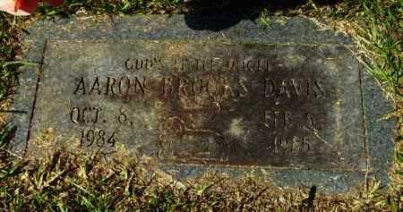 DAVIS, AARON BROOKS - Hempstead County, Arkansas | AARON BROOKS DAVIS - Arkansas Gravestone Photos