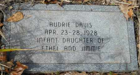 DAVIS, AUDRIE - Hempstead County, Arkansas | AUDRIE DAVIS - Arkansas Gravestone Photos