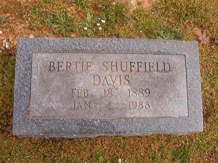 DAVIS, BERTIE - Hempstead County, Arkansas   BERTIE DAVIS - Arkansas Gravestone Photos